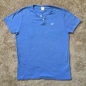 【Hollister】Men's short sleeve T-shirt